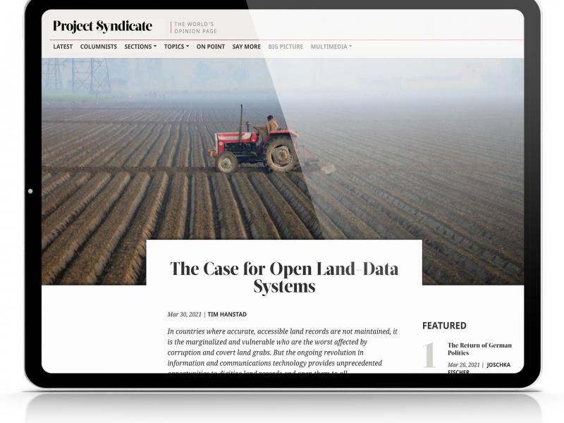 The Case for Open Land Data