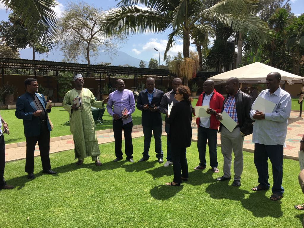 Photo: The trip closed with a ceremony and handing out of certificates