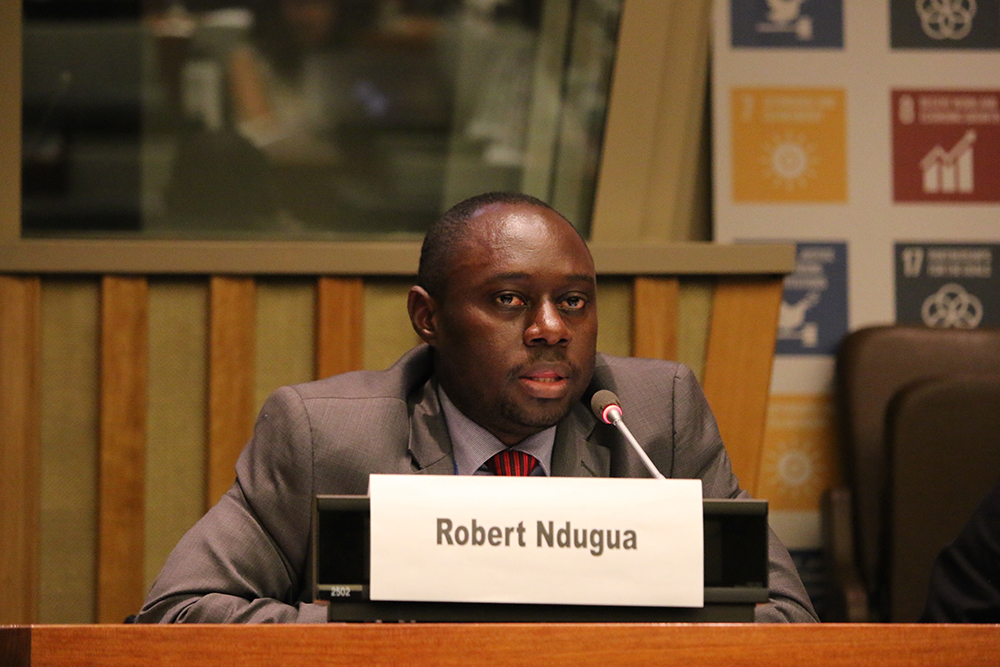 Robert Ndugwa of UN-Habitat's Global Urban Observatory Unit has played a leading role in the development of the land indicators methodology and related pilots