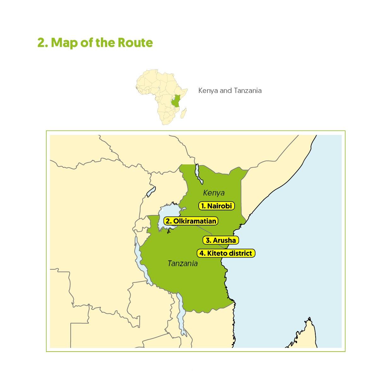 Learning Route Kenya and Tanzania