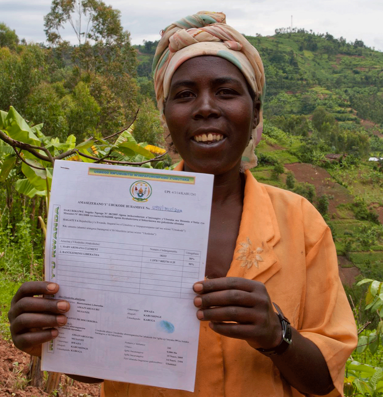 Land Rights Land Title Land Certificate Women's Land Rights