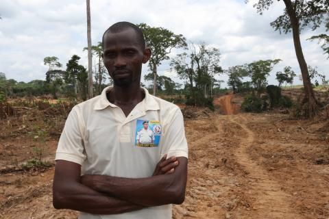 Nigeria farmland gone