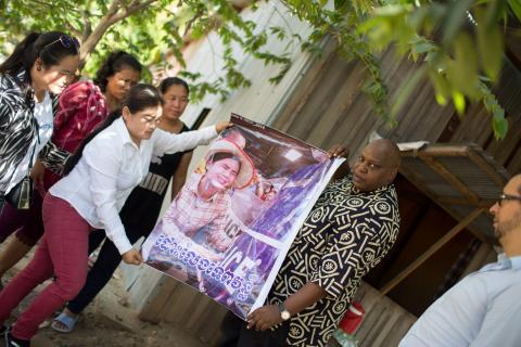 Cambodia land rights activists