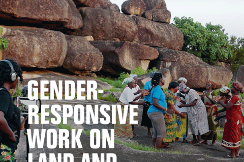 Gender-responsive work on land and corruption - A Practical Guide