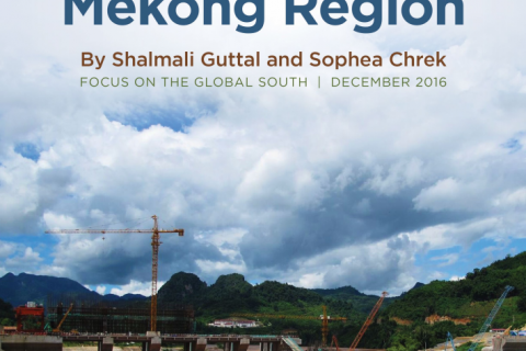 An Overview of Large-Scale Investments in the Mekong Region cover image