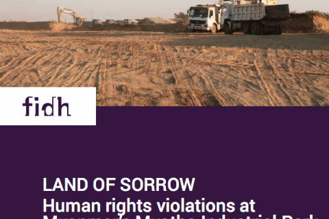 Land of Sorrow: Human rights violations at Myanmar's Myotha Industrial Park cover image