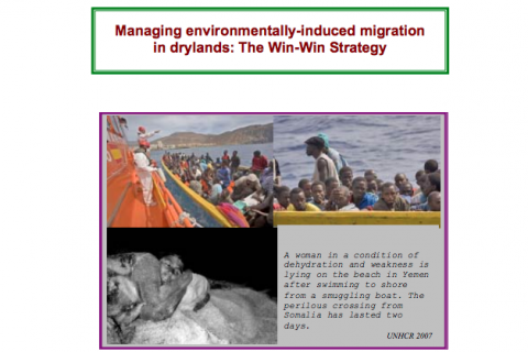 Managing environmentally-induced migration in drylands: The Win-Win Strategy cover image