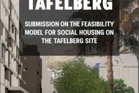 Tafelberg Social Housing Submission