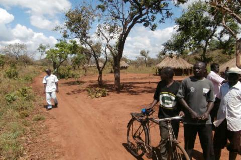 Photo taken in a village in southern Karamoja, Uganda, courtesy of Matt Kandel.
