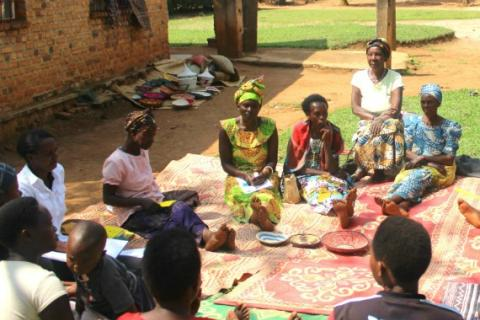 In Rwanda, WfWI graduates have come together to form a Village Savings and Loan Association (VSLA) to create their own source of credit and savings to help them grow their businesses and move out of extreme poverty.