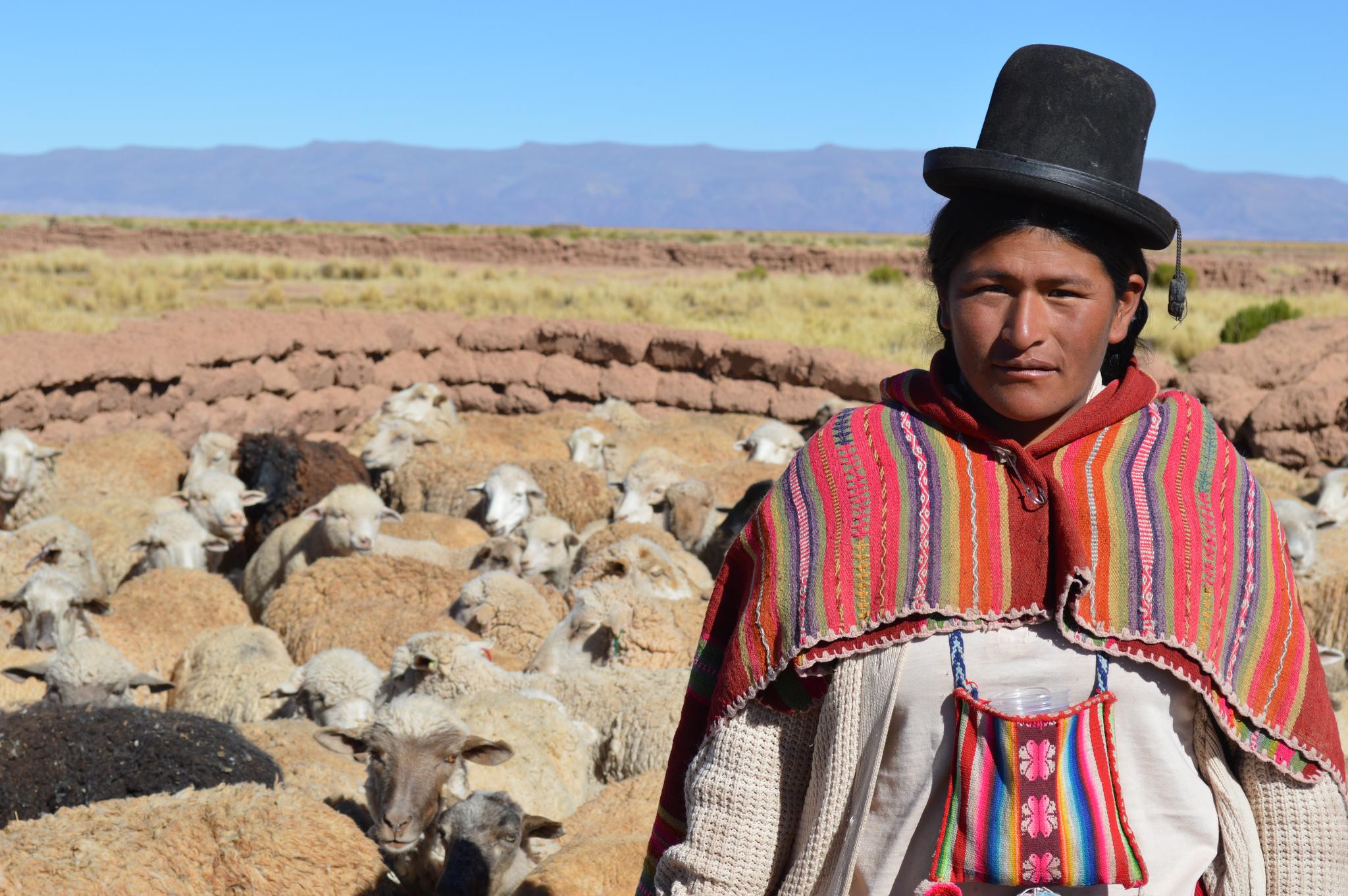 bolivia indigenous woman