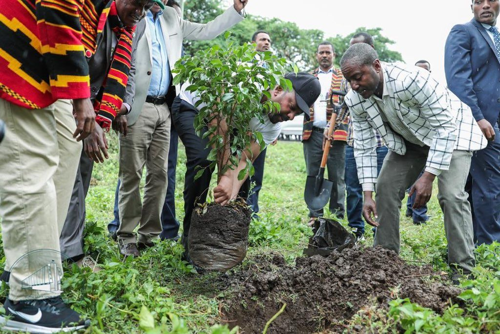 Foto: Reprodução/Twitter/Prime Minister Ethiopia