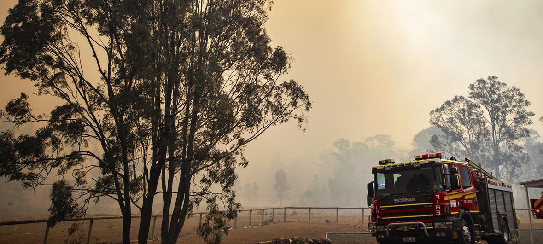 Foto: Serviços de Emergência e Incêndio em Queensland