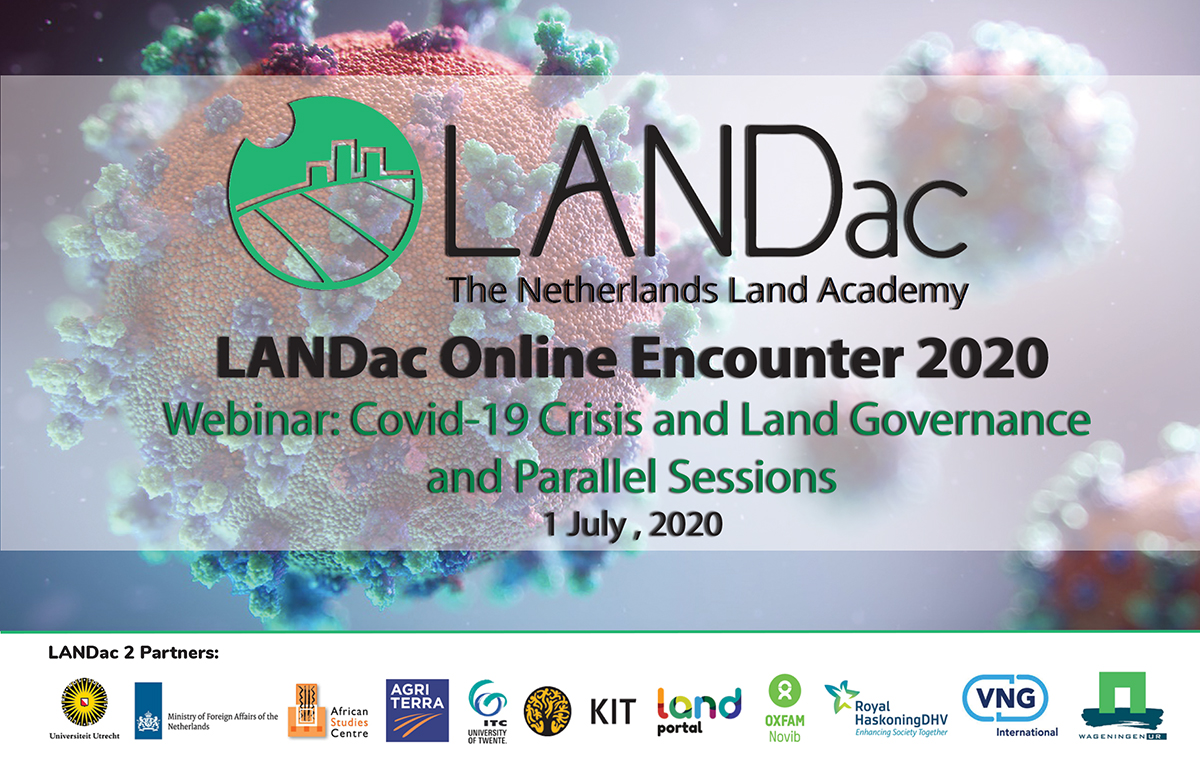 Webinar 'Multifaceted Challenges of Land and Climate Change' & Parallel sessions