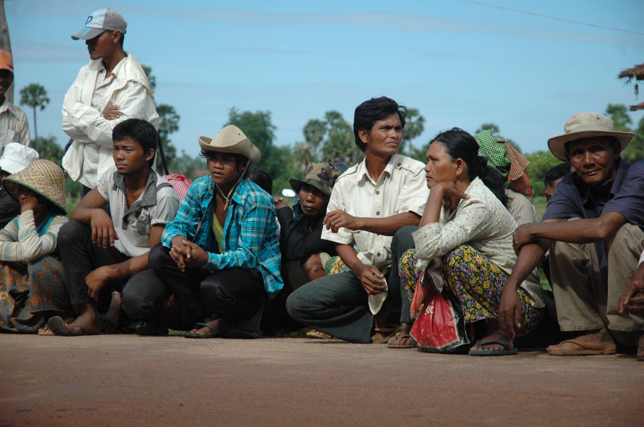 Cambodia land rights activists flickr