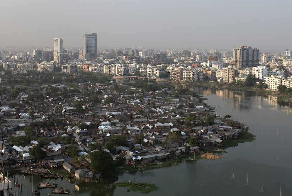 The Bangladesh government wants Karail, an established community of 200,000 people in the capital Dhaka, to make way for development