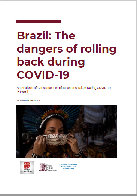 Brazil: The dangers of rolling back social and environmental safeguards for indigenous and forest peoples during COVID-19