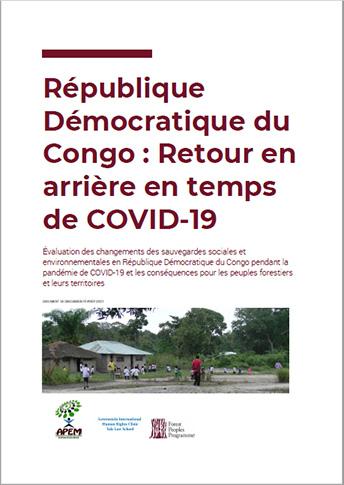 République Démocratique du Congo : Retour en arrière en temps de COVID-19