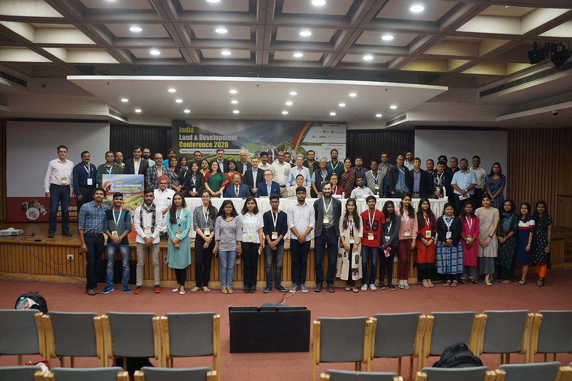 Participants of the 2020 India Land and Development Conference
