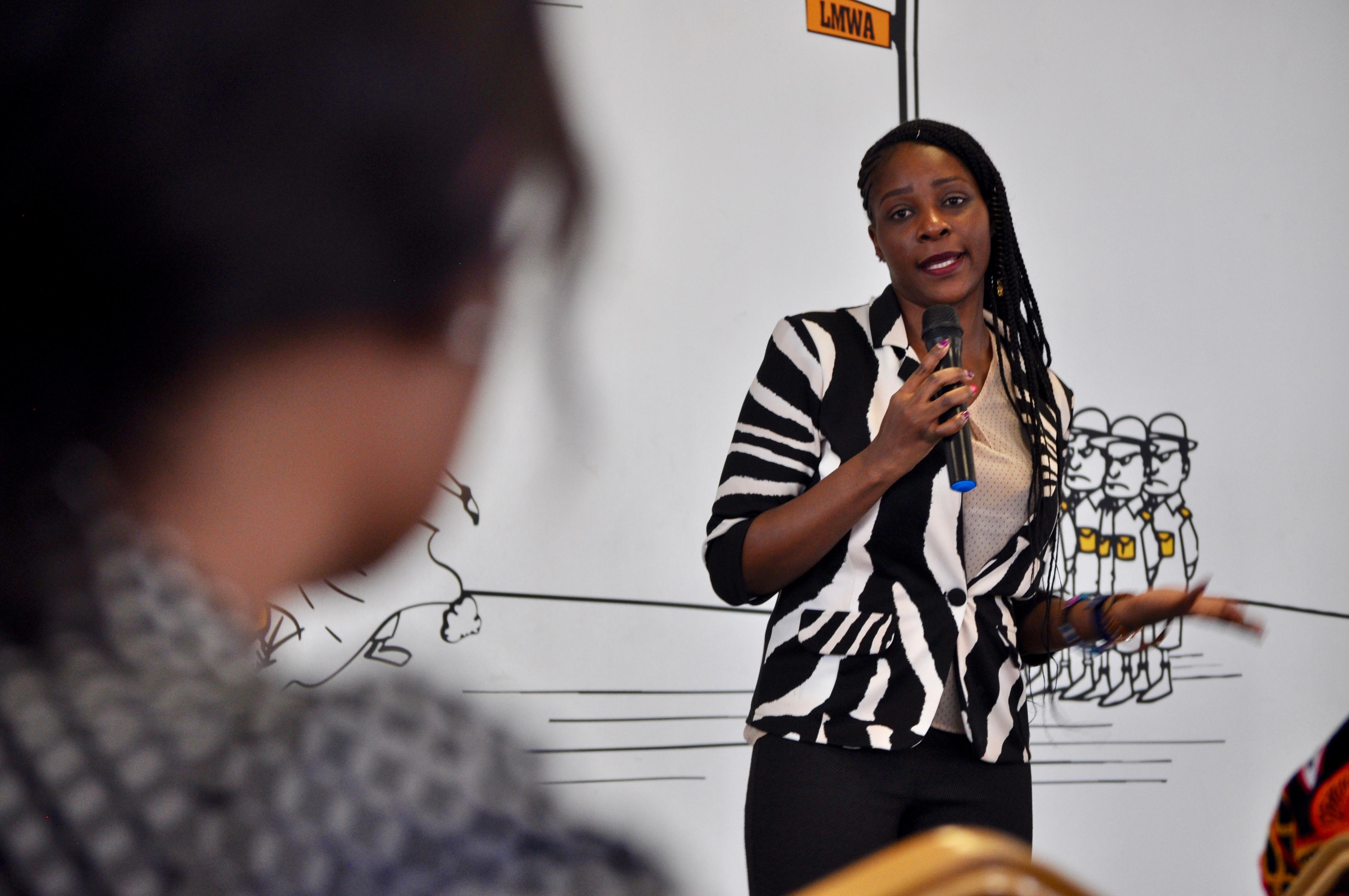 Joan Nandiri describes the plight of widows facing land corruption in Kenya