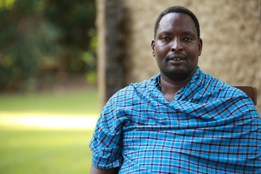 Edward Loure, 2016 Goldman Environmental Prize winner for Africa, led a grassroots organization that pioneered an approach that gives land title to indigenous communities. Photo Credit: Goldman Environmental Prize