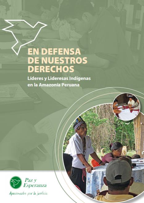 Líderes y Lideresas indígenas en la Amazonía Peruana Cover