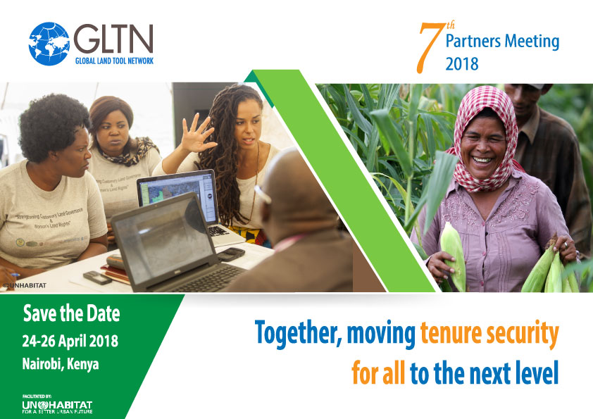 7th Global Land Tool Network (GLTN) Partners Meeting | Land