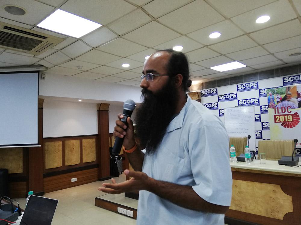 Guneet Narula from Datameet Delhi