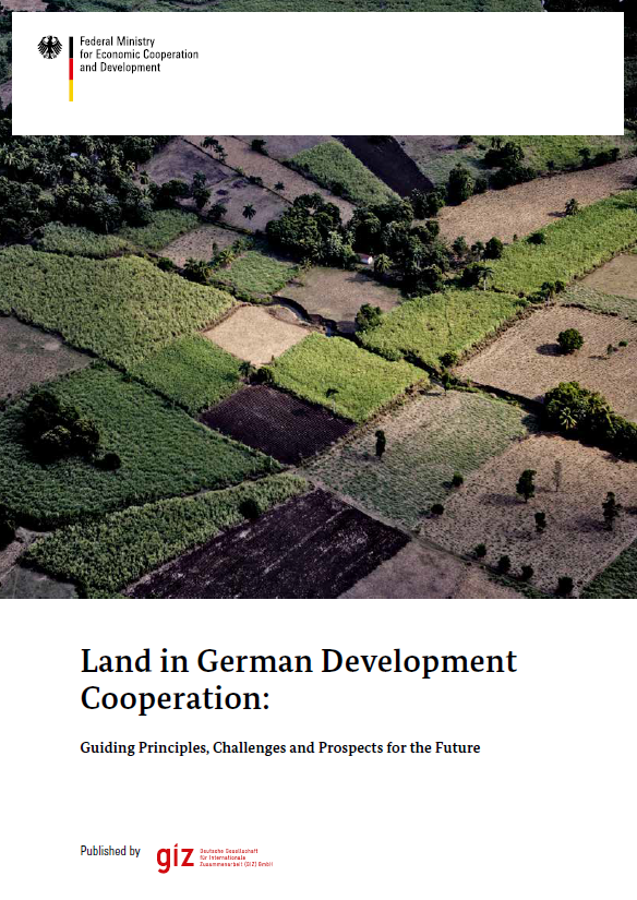 Land in German Development Coorporation Cover