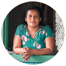 Maricela Fernández- Cabécar indigenous leader and Founder of the Katsatkö Women's group