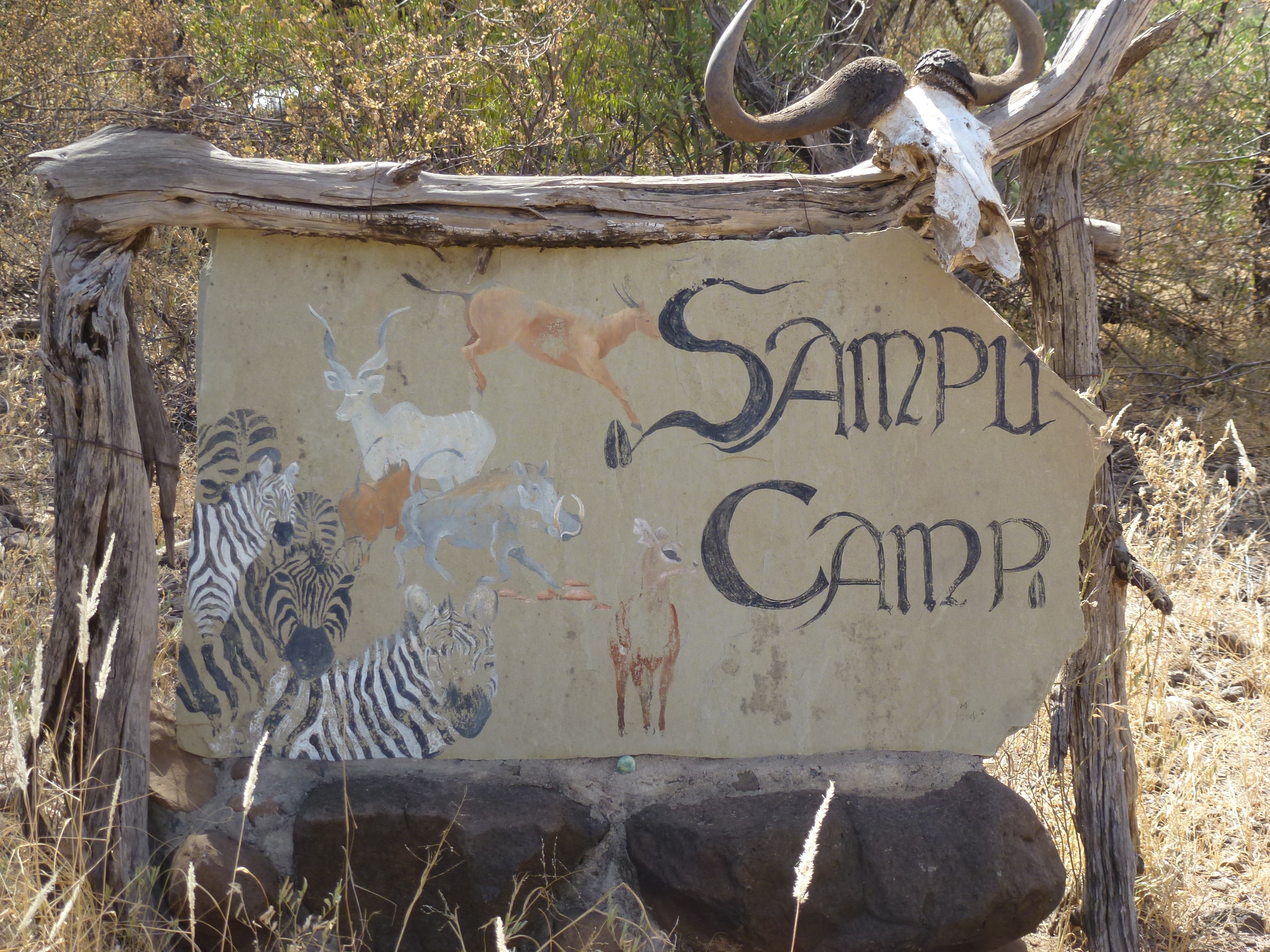 Photo: Sampu Camp is leased out to a tour operator for extra revenue