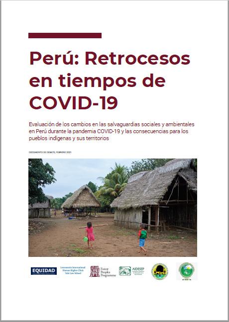 Perú: Retrocesos en tiempos de COVID-19