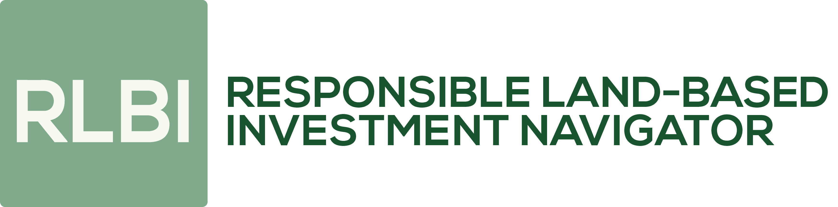 Responsible Land Based Investment Navigator