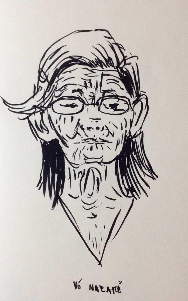 Retrato de Dona Nazaré, por Daniel Lie