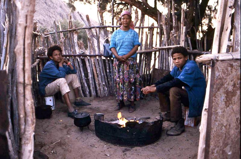 Richtersveld community members, photo by Louis Reynolds (CC-BY-NC)