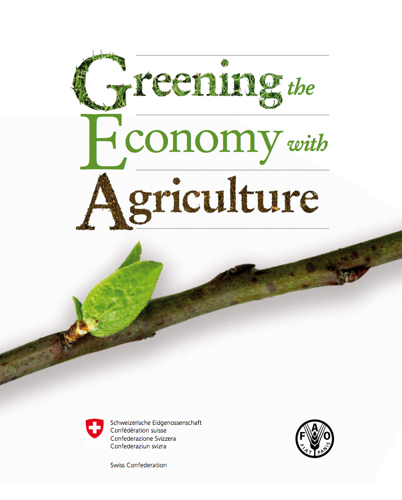 Greening the Economy with Agriculture cover image