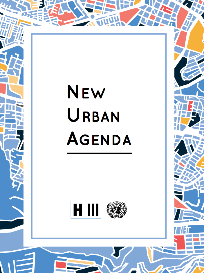 The New Urban Agenda cover image