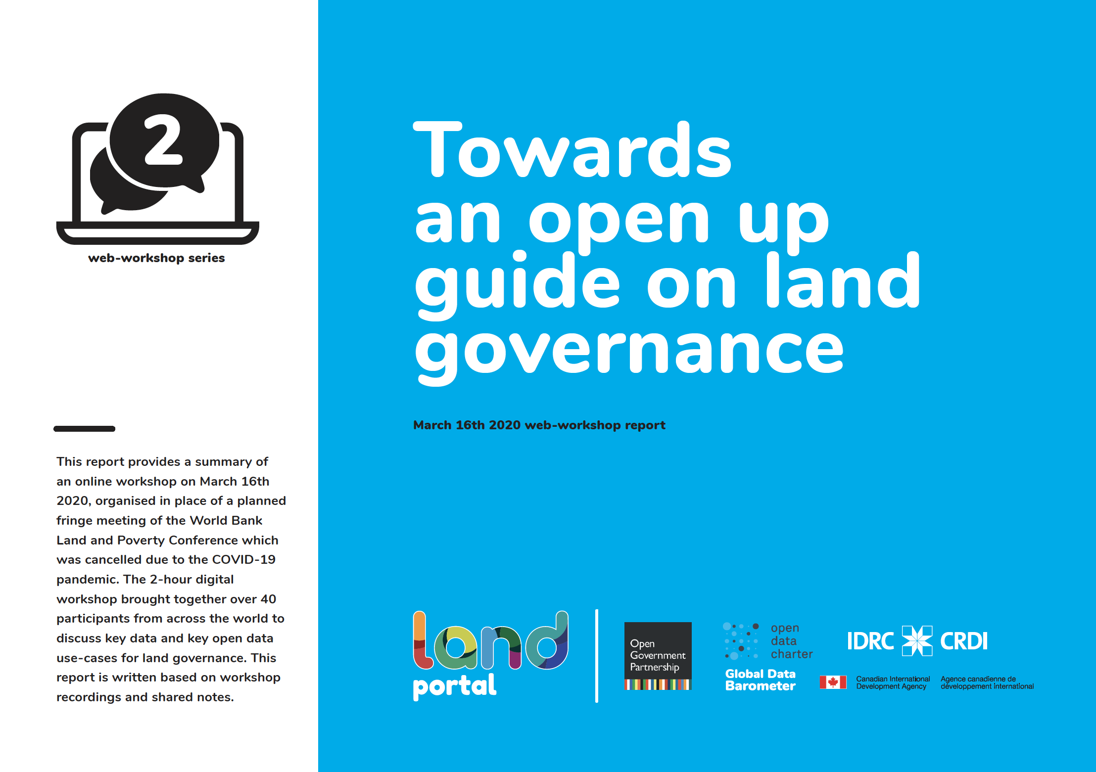 an open up guide on land governance