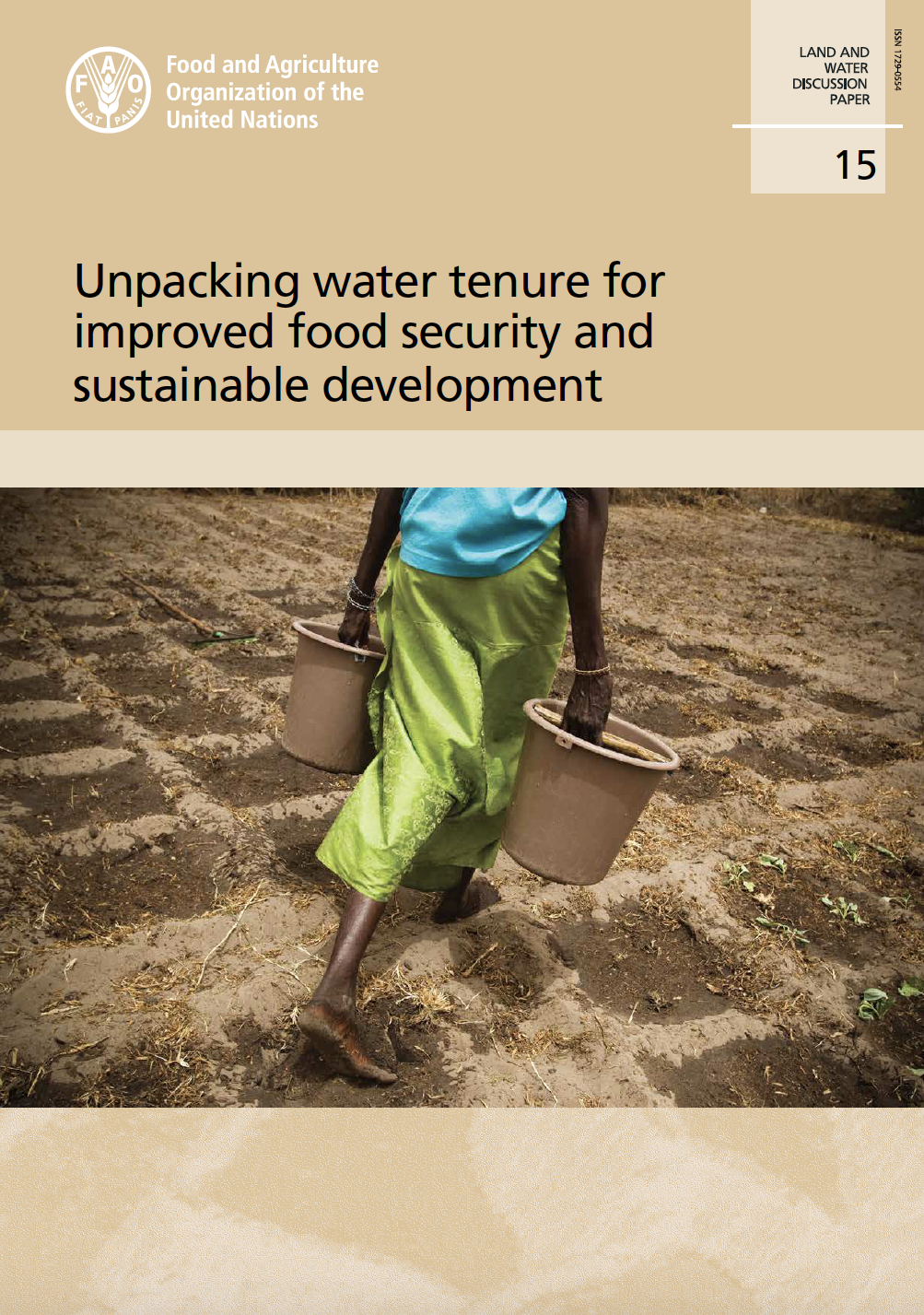 Unpacking water tenure for improved food security and sustainable development