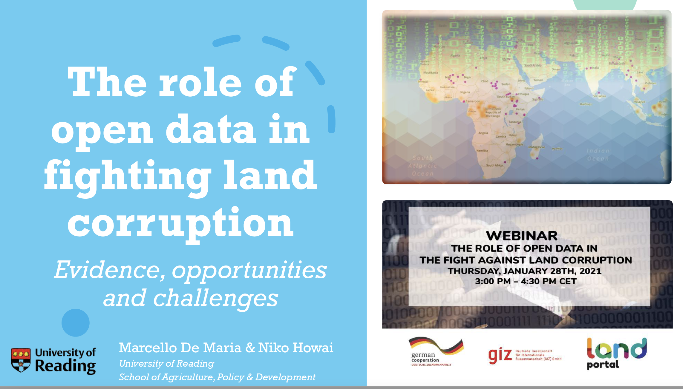 Role of Open Data in the Fight against Land Corruption