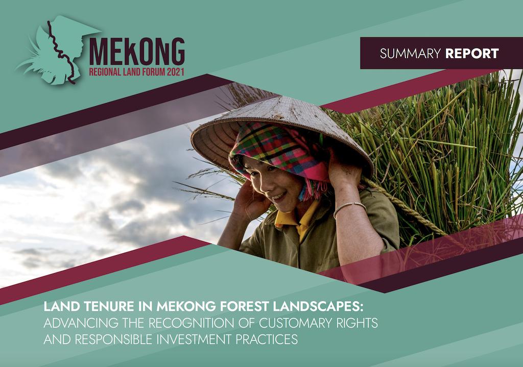 LAND TENURE IN MEKONG FOREST LANDSCAPES