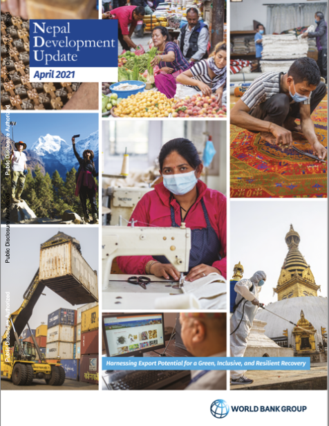 Nepal Development Update : Harnessing Export Potential for a Green, Inclusive, and Resilient Recover