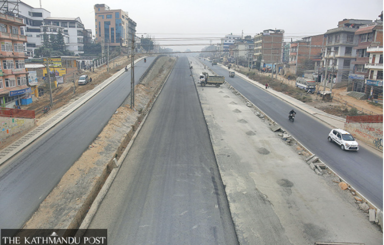 Power poles and land dispute delay Ring Road widening work