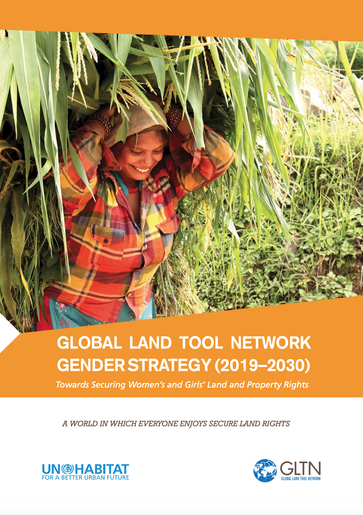 GLTN Gender Strategy (2019–2030): Towards Securing Women's and Girls' Land and Property Rights cover image