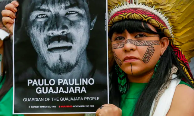 Record 212 land and environment activists killed last year