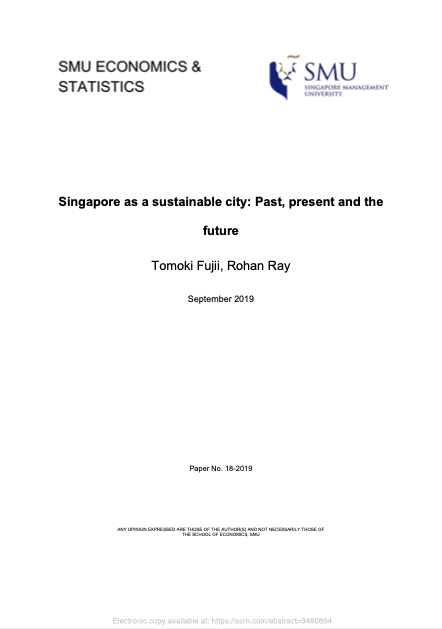 Singapore as a sustainable city