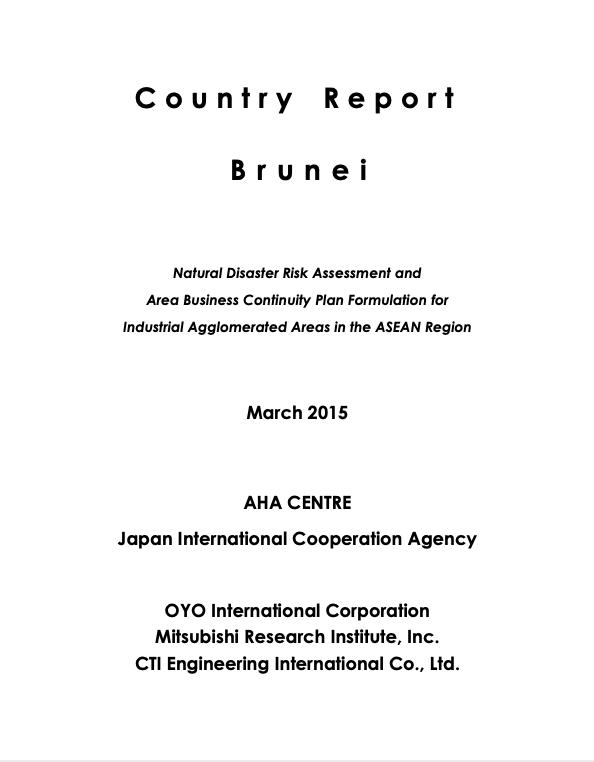 Country Report Brunei