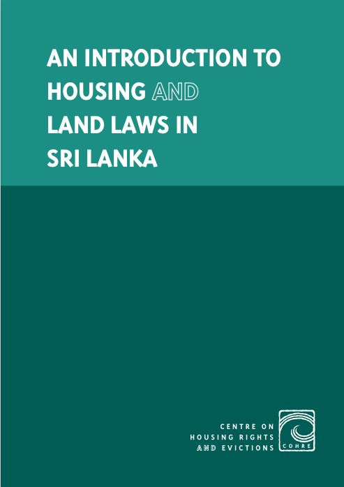 An Introduction to Housing and Land Laws in Sri Lanka