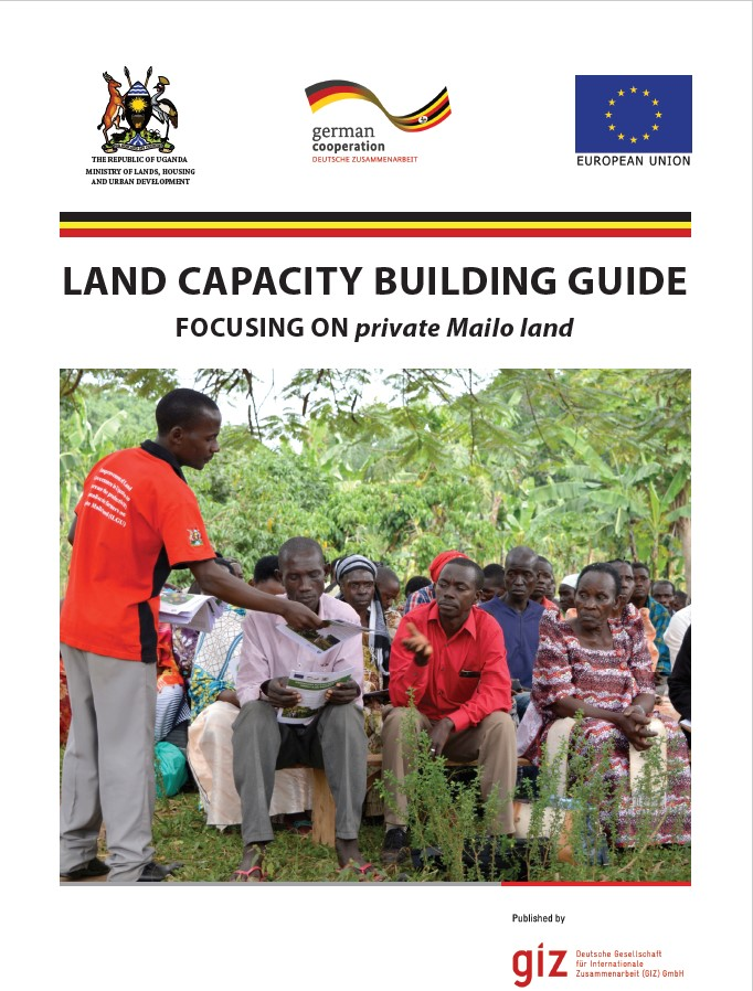 Land Capacity Building Guide - Focusing on private Mailo land