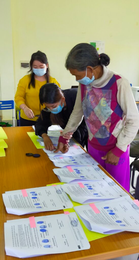 Figure 5: The signing process for the dispute settlement over the Socfin rubber project (by Sothath Ngo)